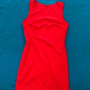 Red Bodycon Dress. Size Large.